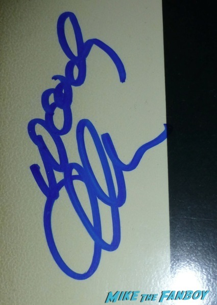woody allen signing autographs for fans UCLA signed autograph rare