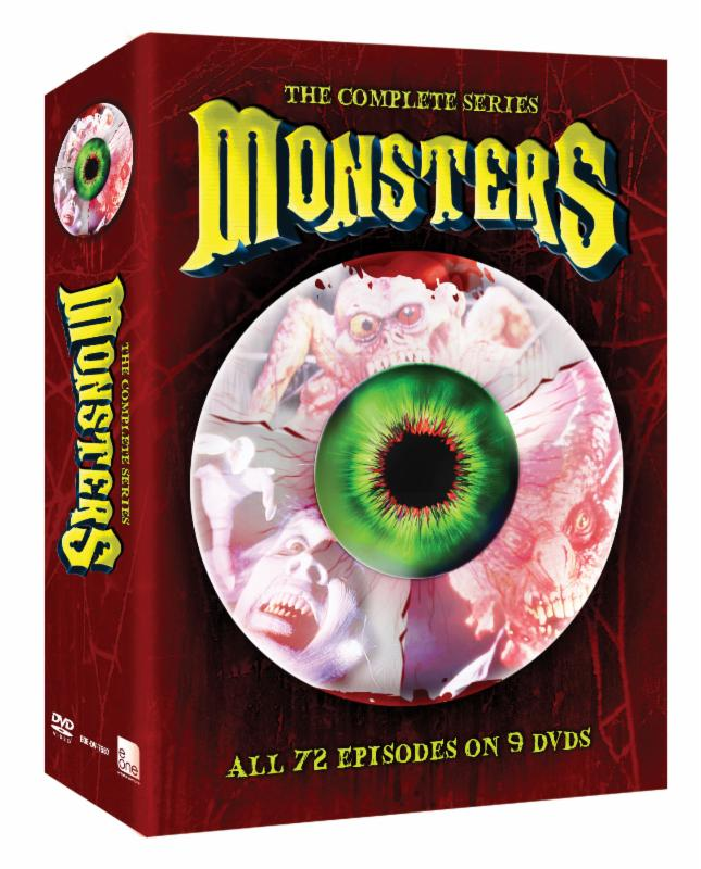 monsters the complete series packaging dvd box cover monsters the complete series press photo