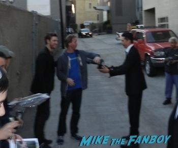 Alex Pettyfer signing autographs jimmy kimmel live 2014 endless love9