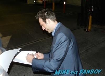 michael Vartan signing autographs Bates Motel premiere red carpet vera Farmiga olivia Cooke9