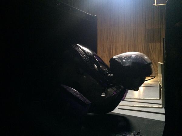 nicholas hoult x-men days of future past set photo