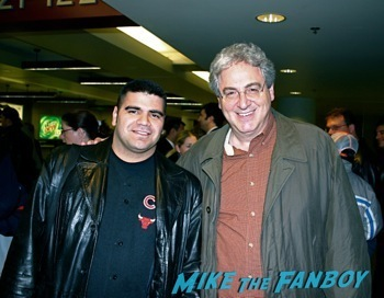 Harold Ramis fan photo meeting the ghostbusters star1