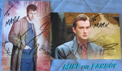 David Tennant signed autograph fanmail