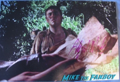 alfred molina signed autograph fanmail ttm success