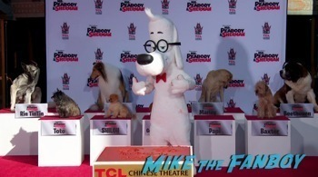 Mr. Peabody and Sherman Handprint ceremony 14