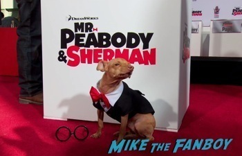 Mr. Peabody and Sherman Handprint ceremony 15