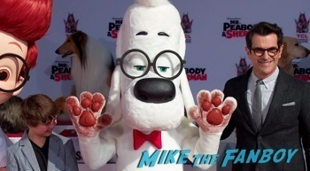 Mr. Peabody and Sherman Handprint ceremony 9