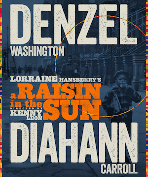 Raisin-in-the-Sun denzel washington broadway poster