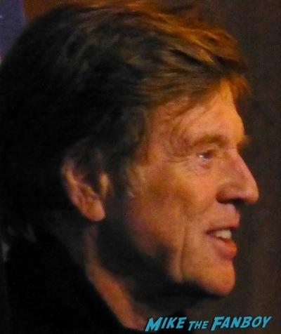 Robert Redford Signing Autographs Santa Barbara Film festival 20143