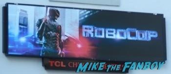 Robocop movie premiere los angeles red carpet 1