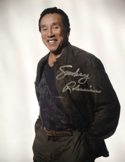 Smokey Robinson signed autograph 8x10 photo