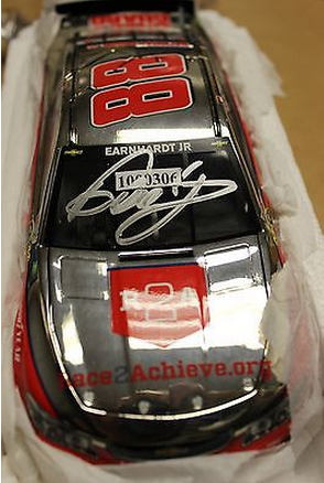dale earnhardt jr. signed autograph for charity ebay