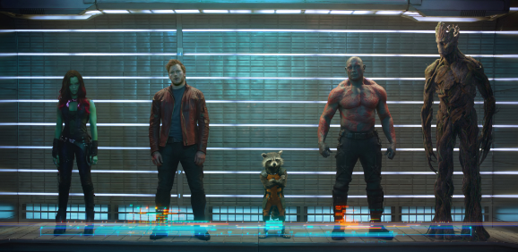 guardians of the galaxy line up photo rare comic con