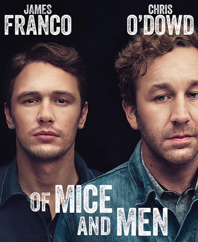 of mice and men broadway poster