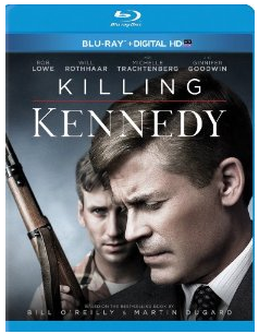 killing kennedy blu ray cover