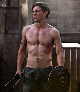 Jamie Bell shirtless the eagle rare hot