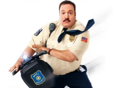 paul blart mall cop logo movie poster