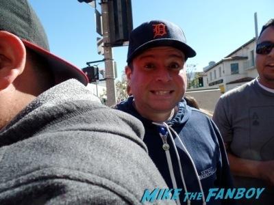 billy beer brie larson signing autographs The LEgo Movie Premiere westwood CA chris pratt anna faris