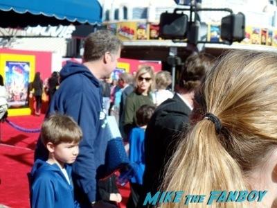 will ferrell signing autographs The LEgo Movie Premiere westwood CA chris pratt anna faris