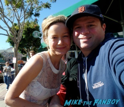 brie larson signing autographs The LEgo Movie Premiere westwood CA chris pratt anna faris