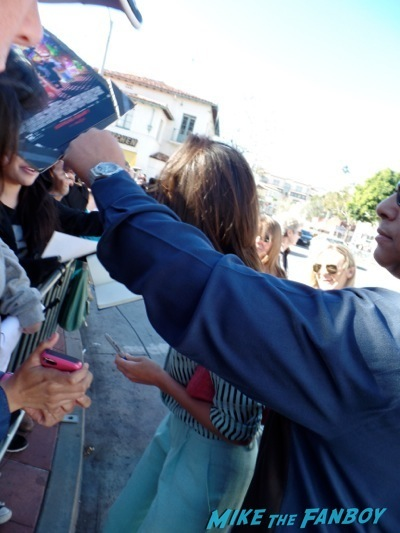 Cobie Smulders signing autographs The LEgo Movie Premiere westwood CA chris pratt anna faris