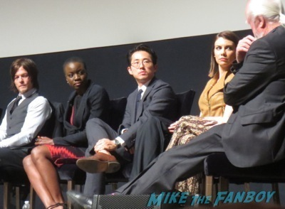 The Walking Dead season 4 q and a television academy 14