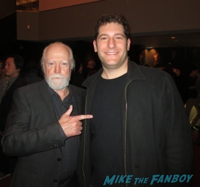 Scott Wilson fan photo signing autographs The Walking Dead season 4 q and a television academy 110