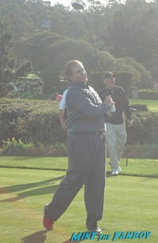 Bill Belichek at pebble beach golf course