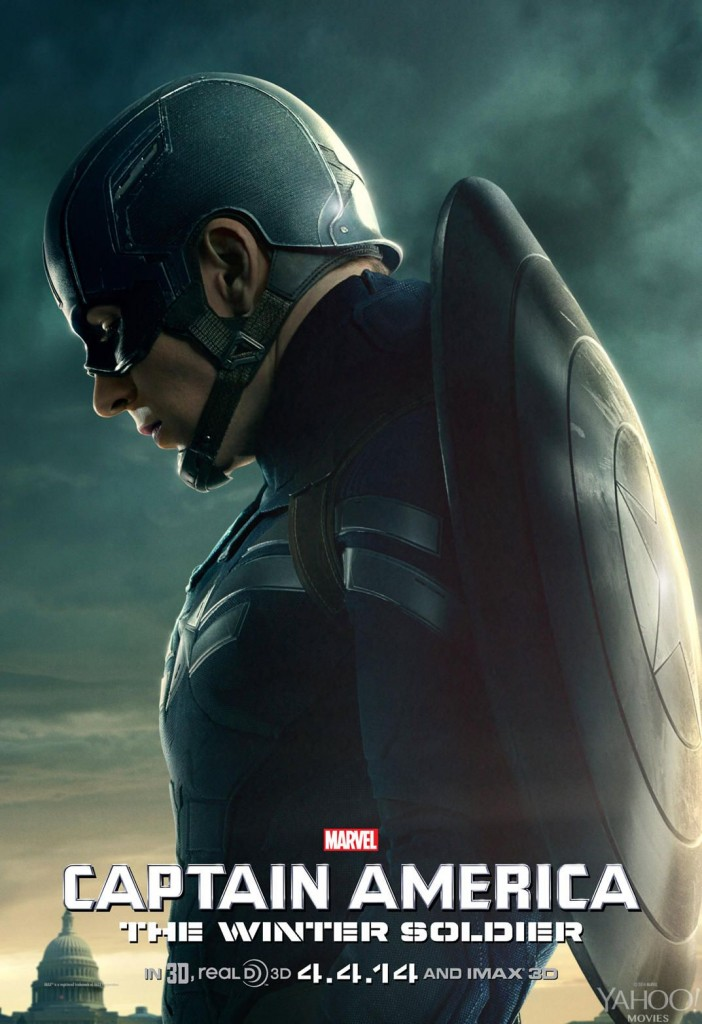 Captain America: The Winter Soldier chris evans individual promo poster