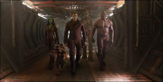 Guardians of the galaxy press promo still