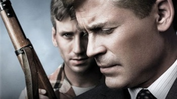 killing kennedy press promo still rob lowe