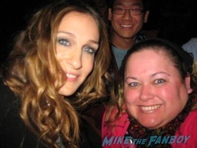 meeting sarah jessica parker fan photo jamie gertz4