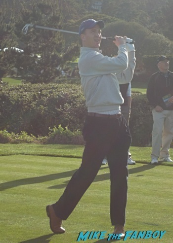 peyton manning at pebble beach
