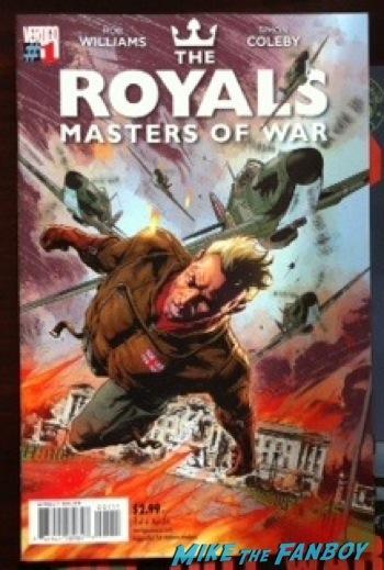 Vertigo's royals comic book cover