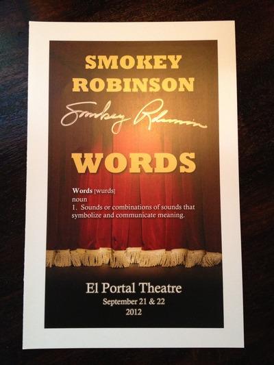 Smokey Robinson signed autograph 8x10 photo