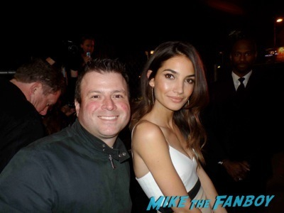 Lily-Aldridge fan photo signing autographs rare