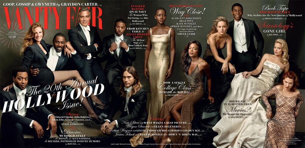 vanity fair 2014 hollywood cover