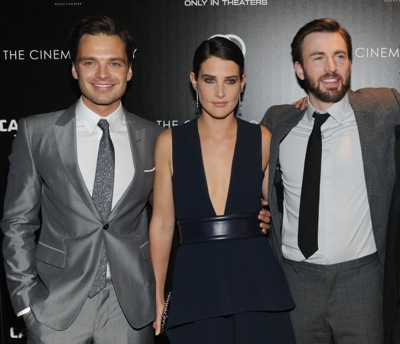"""The Cinema Society & Gucci Guilty Host A Screening Of Marvel's """"Captain America: The Winter Soldier"""" - Arrivals"""