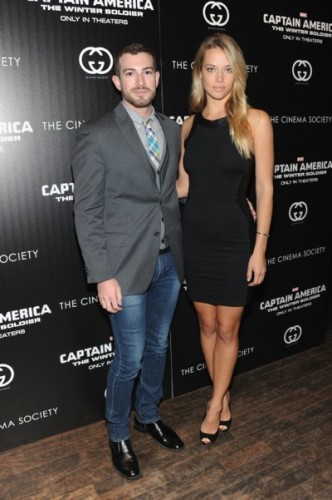 "The Cinema Society & Gucci Guilty Host A Screening Of Marvel's ""Captain America: The Winter Soldier"" - Arrivals"