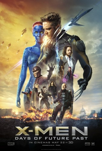 x-men:Days of future past one sheet movie poster