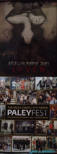 American Horror Story Coven Paleyfest 2014 panel siging autographs 4