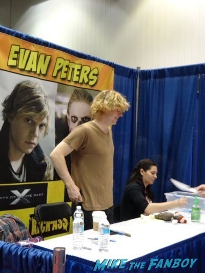 The first indiana comic con the stars of game of thrones x men evan peters 1 m4hsunfo