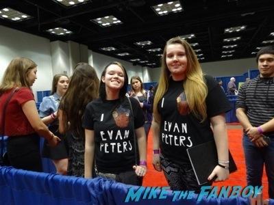 Evan fans