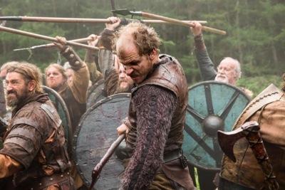 Floki (Gustaf Skarsgard) in battle