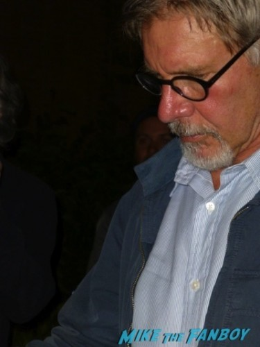Harrison Ford signing autographs 2014 indiana jones star 2