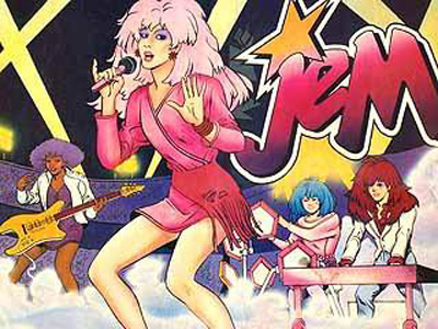 Jem and holograms photo rare