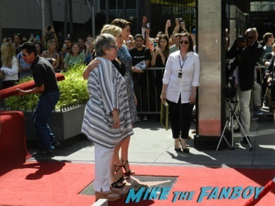 Kate Winslet Walk Of Fame Star Ceremony signing autographs rare kathy bates speech58