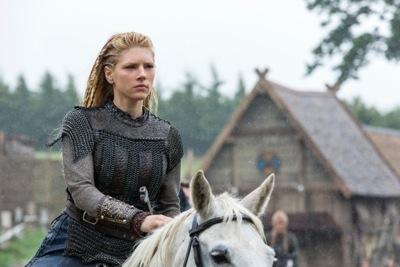 Lagertha, played by Katheryn Winnick