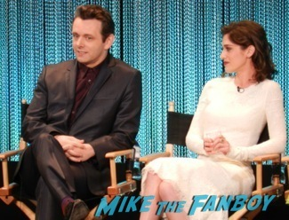 Masters of Sex Paleyfest 2014 panel lizzy caplan Michael Sheen 44