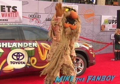 Muppets Most Wanted Movie premiere photo red carpet 10